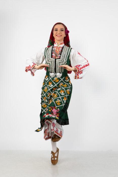 Габриела Неделчева - Клуб за народни танци БЪЛГАРИН