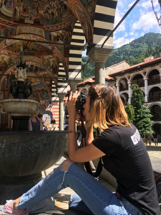 Яна Любенова - Снимки на Рилски манастир
